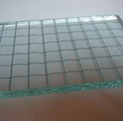 wire glass