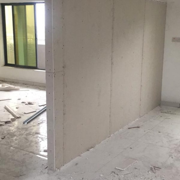 ALUMINUM OFFICE GLASS PARTITION, LOFTY HEIGHT FITGLASS PROJECT 2